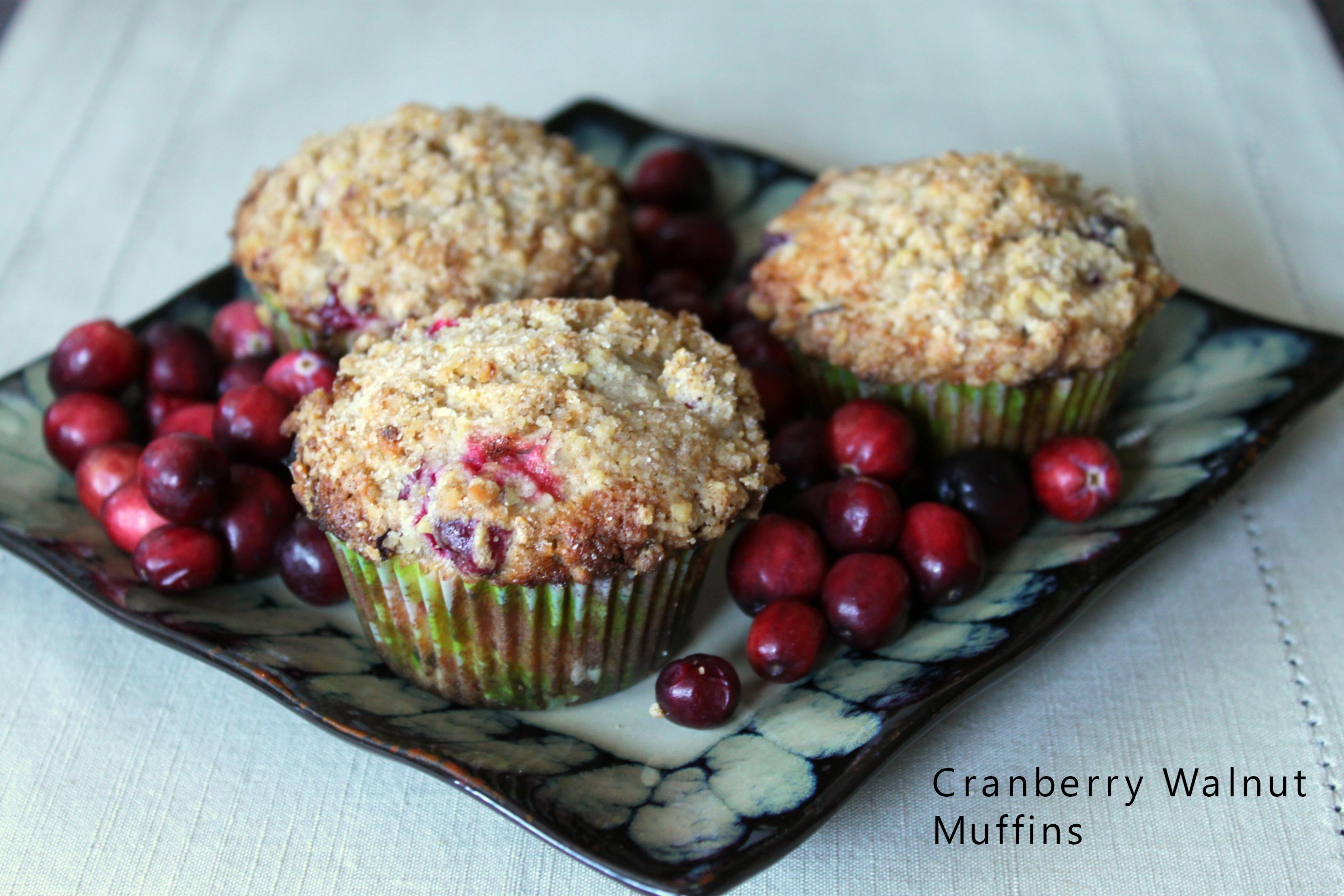 Cranberry Nut Muffins America S Test Kitchen